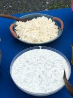 Feta Cheese and Tzatziki