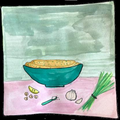 Chive Hummus (Air)